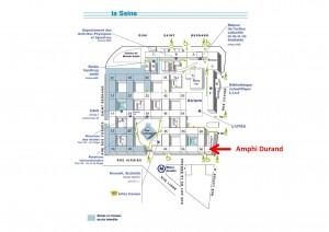 Amphi Durand Campus Jussieu Paris